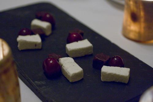 Marshmallow, Cherry, Chocolate