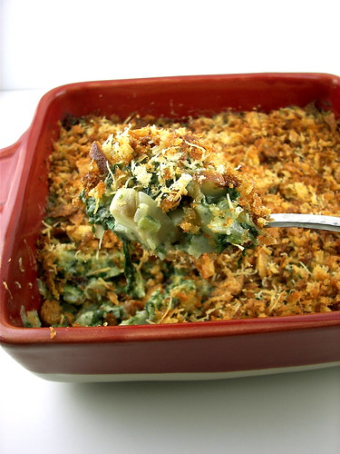 Swiss Chard and Fennel Gratin