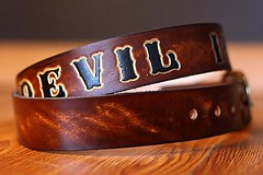 318 (amina.munster) Tags: leather belt painted accessories buckle personalized beltbuckle leatherbelt kyodtcom customleatherbelt