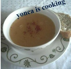 yonca is  cooking