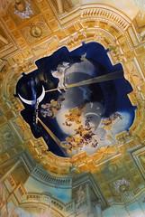 Ceiling in Castell Gala Dali