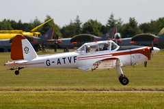 G-ATVF - C1 0265 - Private - De Havilland DHC-1 Chipmunk 22 - 090704 - Waddington - Steven Gray - IMG_8184