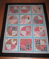 Flights of Fancy Circle Quilt (Mushyhed) Tags: flightsoffancy circlequilt paulaprass