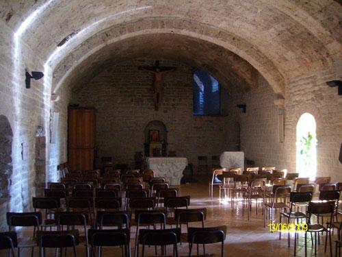 Cripta, Monastero San Silvestro Fabriano