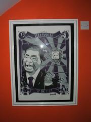 All framed up (Junta*) Tags: trip art stencil power framed sunburst sickle tap junta mugabe ak47 billyclub