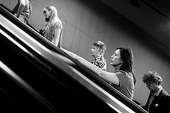 Ascenseur pour l'echafaud (Donato Buccella / sibemolle) Tags: street people underground candid milano streetphotography mm metropolitana milesdavis bisceglie canon400d sibemolle fotografiastradale