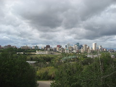 Edmonton Skyline from Old Strathcona