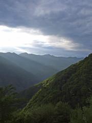Primeval (LeelooDallas) Tags: sky mountain alps japan clouds forest landscape asia fuji dana lodge finepix prefecture s9500 nagano 2009 iida iwachow shimoguri