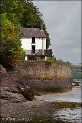 The Boat House (K_D_B 2 Million views. Thanks) Tags: canon poet poems boathouse dylanthomas verse 30d laugharne sigma1020mm kdb