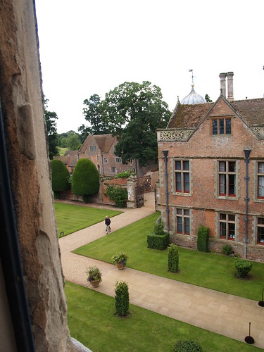 View from window at Charlecote