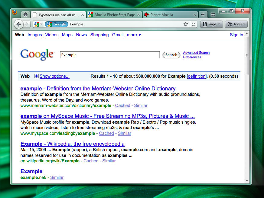 Firefox 4.0 tabs arriba