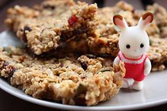 Msli bars (*ilovemuffins*) Tags: cute rabbit bunny yummy kawaii sweets muesli msli