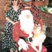 1994 Jan Maher (nee Swift), Fat Cat, Chris Hope-santa & Adam Maher-baby
