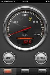 Apple iPhone App: Speed Check