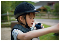 Jockey (bart_) Tags: chris portrait horse sigma gemma jockey navajo 30mm naturalportrait sd14