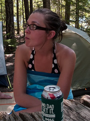 before the bridge jump (1yen) Tags: camping camp washington wa northcascadesnationalpark rosslake rosslakenationalrecreationarea