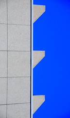 concrete #3 (ocalf-53) Tags: blue urban toronto abstract color building art texture lines concrete colours minimal simplicity walls minimalistic d300 ocalf53