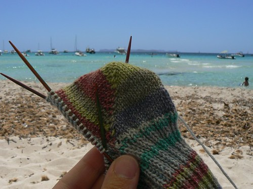 beach supersocke wip 01