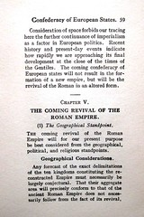 59 Confederacy of European States - The Coming Revival of the Roman Em;pire - (1) The Geographical Standpoint - Geographical Considations (saintalban) Tags: brussels man pope army europa europe european force christ roman euro mark lisbon united president jerusalem union hitler navy 666 vine caesar tony communism empire sin napoleon blair beast british armageddon states adolph jews russian fourth anti adolf nero emperor federation romans eec antichrist prophecy treaty apostolic presidency revived papacy prodi revelations turkisn gentiles charlamagne saintalban santer hitle sydicalism euroarmy