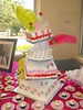 "Quinceanera cake and 50 cup cakes • <a style=""font-size:0.8em;"" href=""http://www.flickr.com/photos/40146061@N06/3809433658/"" target=""_blank"">View on Flickr</a>"