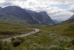The pass at Glen Coe.