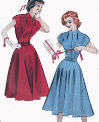 B5950Gallery (sandritocat) Tags: vintage pattern sewing international commercial rockabilly supplies freeshipping quickandeasy size16 vintage50s fullskirtdress bust34 butterick5950