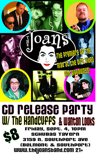 Joans CD Release Poster DC