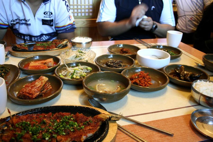 Hwangt'ae gui menu set