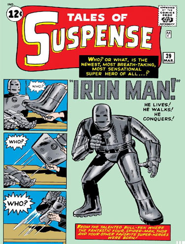 Homem de Ferro, tales of suspense.
