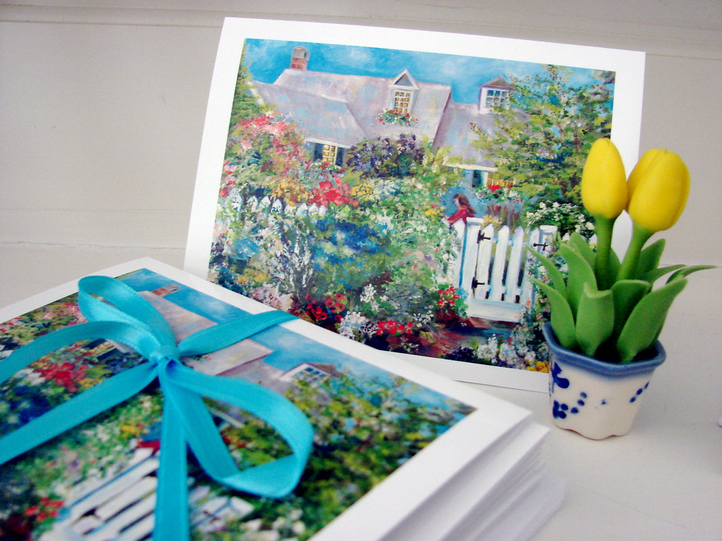 Cottage of Abundance note cards 2