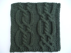 Criss cross cable with twists