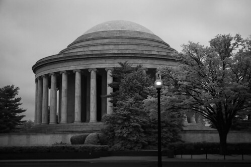 Washington D.C. - Jefferson Memorial - Infrared