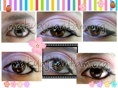 pembe göz makyajı örnekleri makyaj kozmetik güzellik sırları makyaj cantam