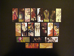 Moo Cards. (Annie Wu.) Tags: illustration moo businesscards promotional minicards