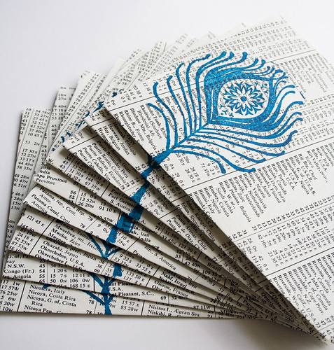 Peacock Blue Envelopes