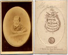 Young Boy (josefnovak33) Tags: old boy vintage de photograph cdv visite carte