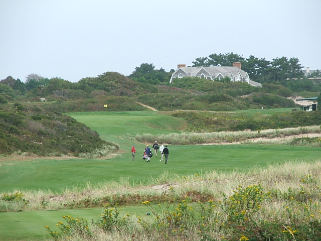 9th fairway