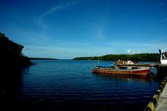 Pelabuhan Muara Siberut Mentawai (Jusup Sukatendel) Tags: ocean blue sea sky west sumatra indonesia boat nikon ship natural indian d70s wave mangrove indonesian mentawai environtment jusup sukatendel