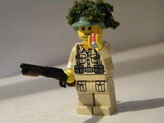 Trenchgunner (Sniper_Season) Tags: cool gun lego wwii rifle ww2 brickarms brickforge trenchgun