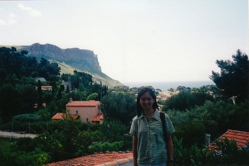 cassis cliff view