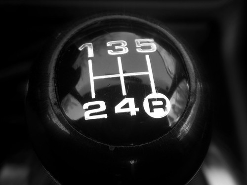 Audi A4 gearshift