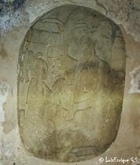 Coronacin del Rey Pacal - Palenque - Chiapas, Mxico (Luis Enrique Gmez Snchez (3,268,289+) Visitas) Tags: mexique messico  hpphotosmartr817   luisenriquegmezsnchez kodakretinaiareflexmadegermany