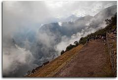 Clouds at Machu Picchu
