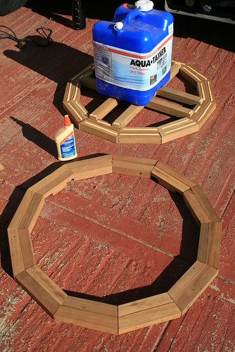 Gluing The Yurt Crown