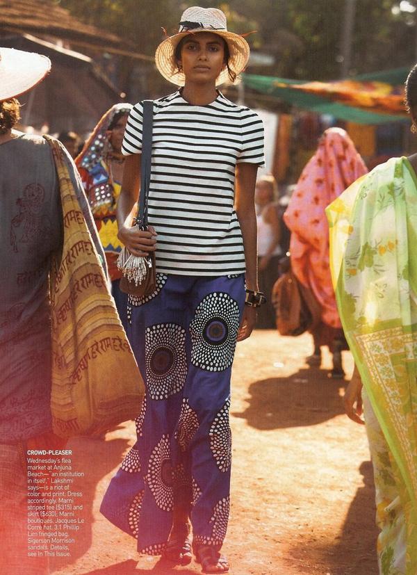 Lakshmi Menon - US Vogue May 2009 - 2