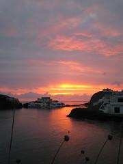 sa mesquida sunrise (the incredible how (intermitten.t)) Tags: sea sky sunrise dawn coast spain espana amanecer coastal menorca illesbalears balearics 1571 gwawr samesquida 081008 holidaysnapsfromanageago