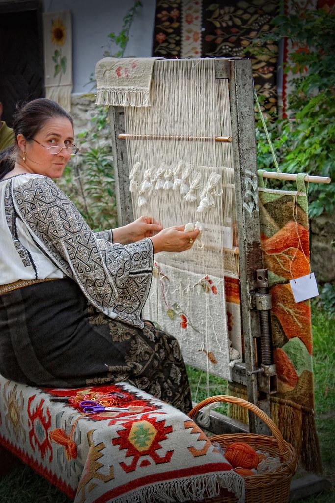 weaving her life