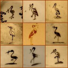 Lijncker storks (Frans Schmit) Tags: denhaag porcelain thehague dehaagseooievaar fransschmit lijncker storkaholic