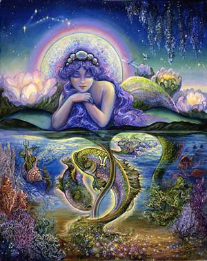 Pisces - the dreamer of the deep waters