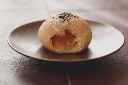 Baking at Home: Autumnal Sweet Squash Bao